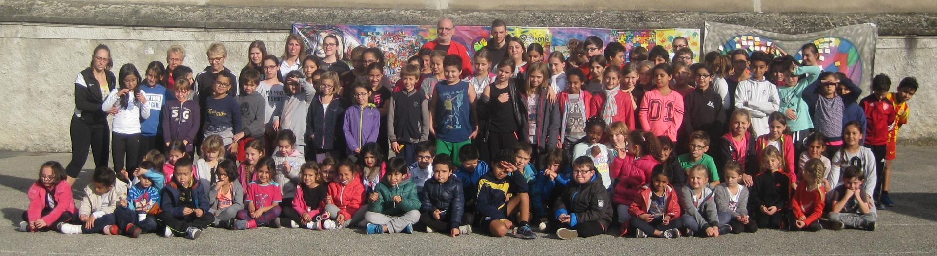 95 enfants à la journée multisports du 28 Octobre