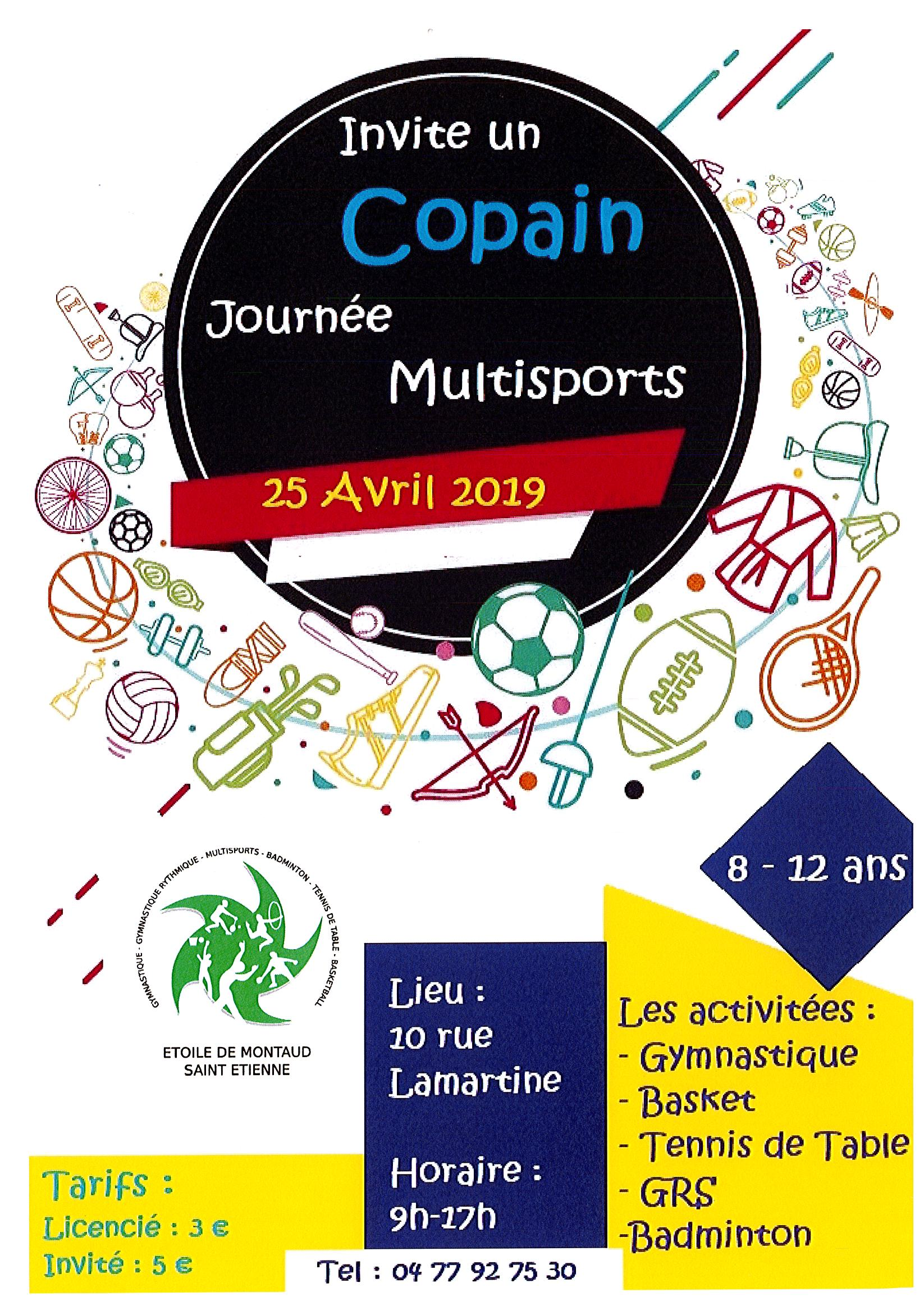 JOURNEE MULTISPORTS 25 AVRIL